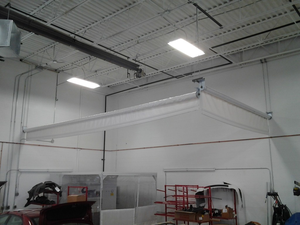 The Roll Up Curtain System By Rely On It S A Simple That Is Quick To Install Award Winning Installation Team Can Turn Any