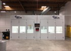 garmat paint booth installed by relyon