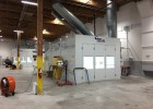 poway collision repair paint booth installed by relyon